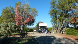 Holiday layover at SKP RV Park of the Sierras