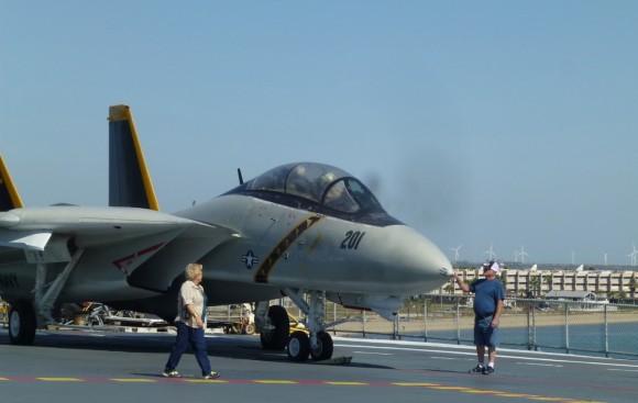 USSLexington_SherianLeeShriver_flightDeck_JulianneGCrane