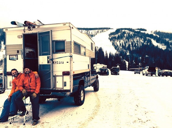 'Mobile ski condo: Ins and outs of RV skiing'