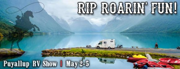 Spring March-May RV shows, criss-cross North America