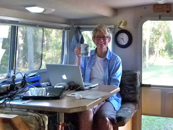 Listen to Julianne G. Crane's interview on the RV podcast series — 'Your RV Dream'