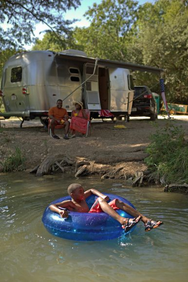 Airstream International Serenity, part 4 — Smooth towing, snap to park