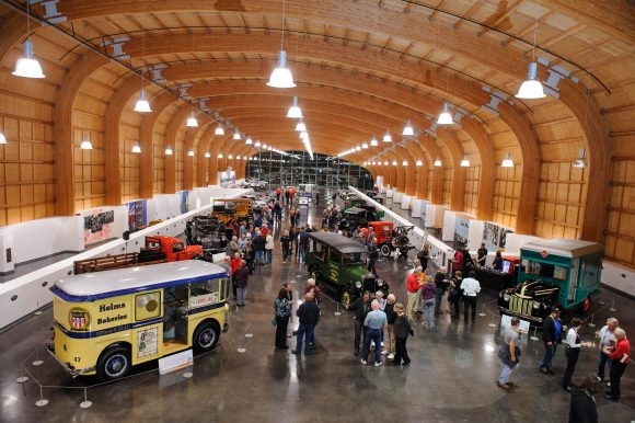 Popular summer RV Short Stop: LeMay America's Car Museum near the Puget Sound