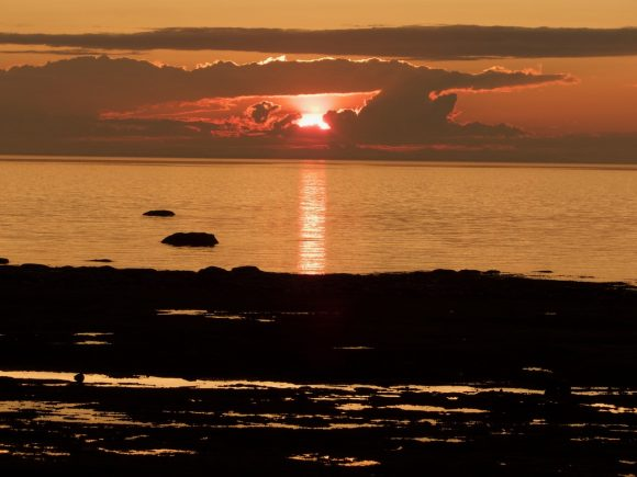 RVing the Maritimes with Kevin & Janie Justis, part 5: Sunset on Gaspe Peninsula, Quebec, Canada