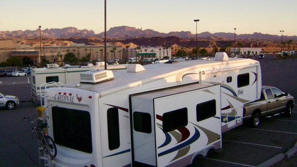 Casino Camping, part 1: RVers bank on many Casinos for free overnight blacktop boondocking