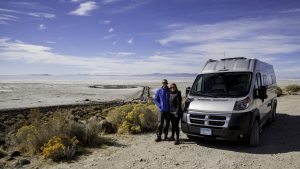 Active millennial RVers Shea and Erin Laughlin, #1:  Love the stylish, compact class B Hymer Aktiv
