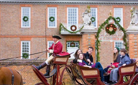 RV Holiday in Colonial Williamsburg