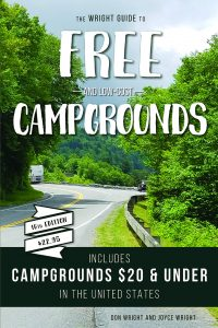 Don Wright's 'Free and Low Cost Campgrounds' Updated