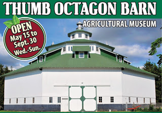 Thumb Octagon Barn in Michigan