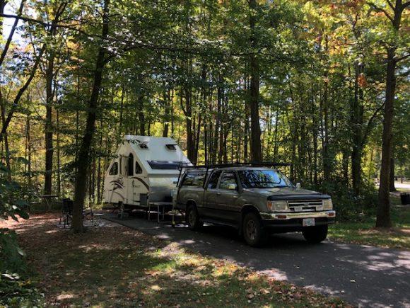 Alum Creek State Park north of Columbus, Ohio